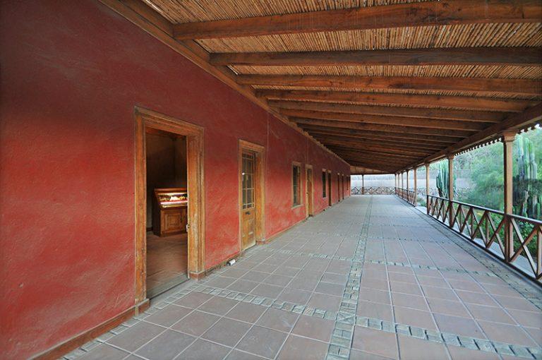 Casona restaurada acceso museo