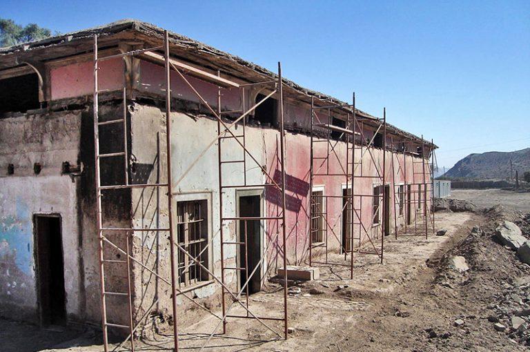 Casona antes de la restauración, año 2003